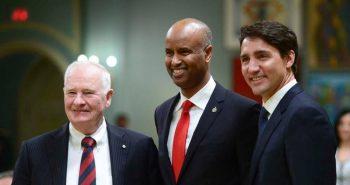 Ahmed Hussen praises immigration on Australia visit