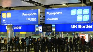 Australians will now be able to fast-track through immigration in the UK