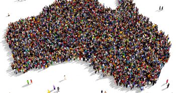 How immigration in Australia is related to its population