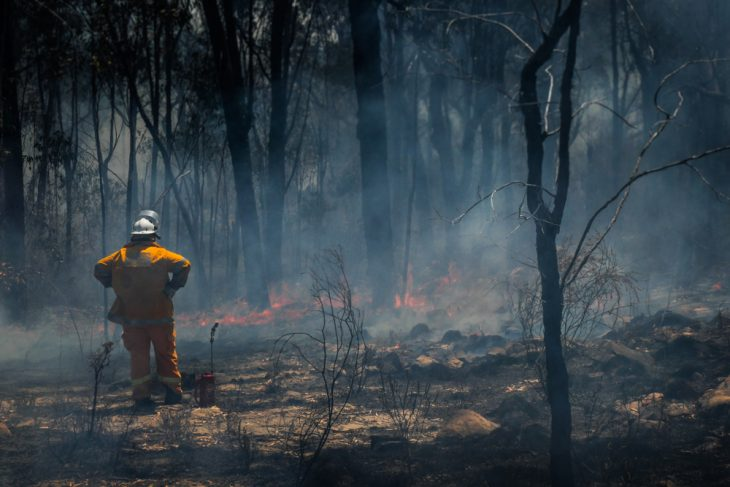 Bushfires shut down Universities in Canberra, Australia