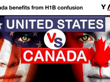 Canada benefits from H1B confusion