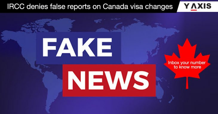 False news on Canada visa