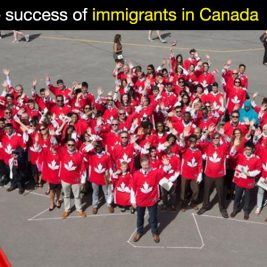 Immigrants succeed in Canada