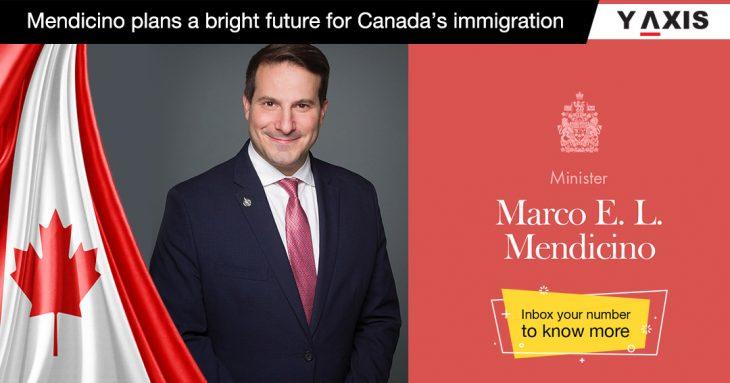 Mendicino plans a bright future for Canada's immigration