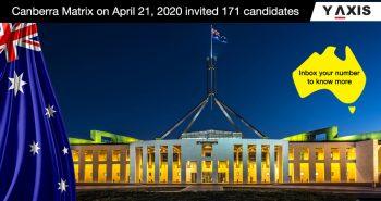 Canberra Matrix latest draw