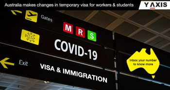 coviD-19 Aus temporary visa changes