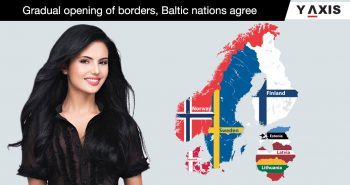 Baltic states open borders