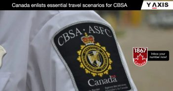 CBSA essential travel