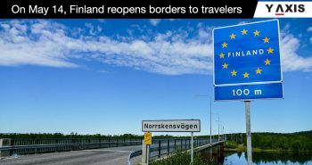 Finland open border 14 May