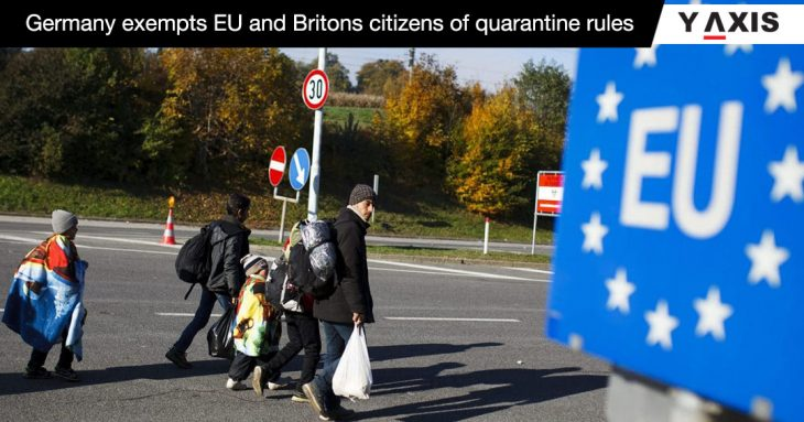 Germany exempts Britons