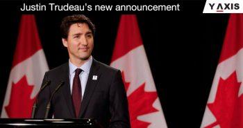 Justin Trudeau announcement