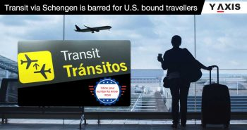 US proclamation for Schengen transit