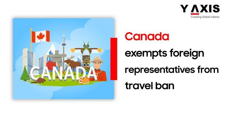Canada Foreign representatives exempt
