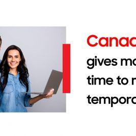 Canada temporary visa renewal