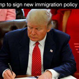 Donald Trump new merit immigration