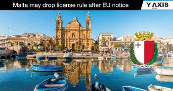 Malta abolish employment license