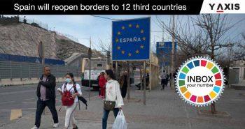 Spain reopen boundaries