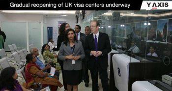 UK visa center reopen