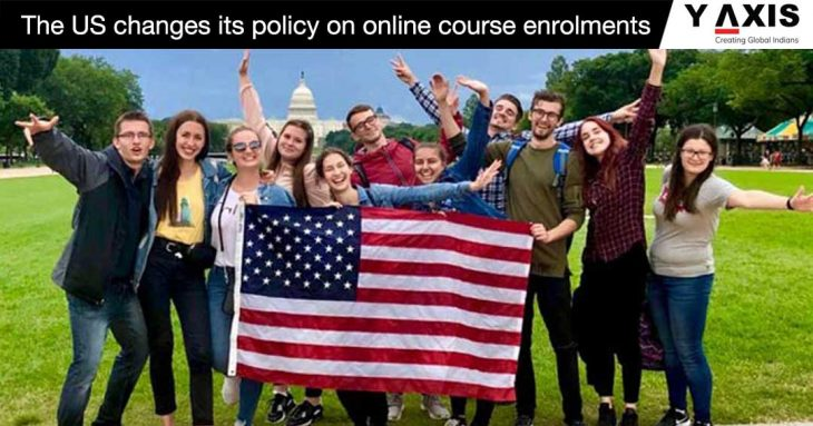 US rules for new online course students