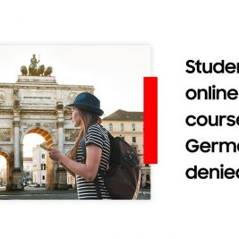 Students for online-only courses in Germany denied visas