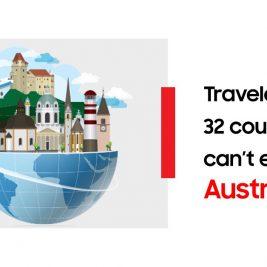 Austria blocks 32 countries
