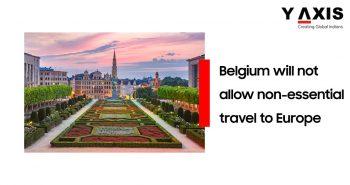 Belgium bans non essential travel