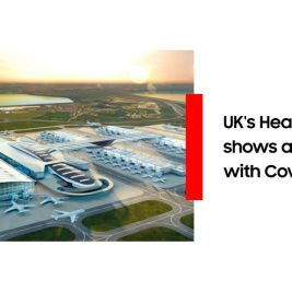 Heathrow airport COVID-19 test