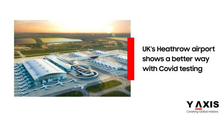 Heathrow airport COVID-19 test