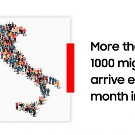 Northern Italy increased migration
