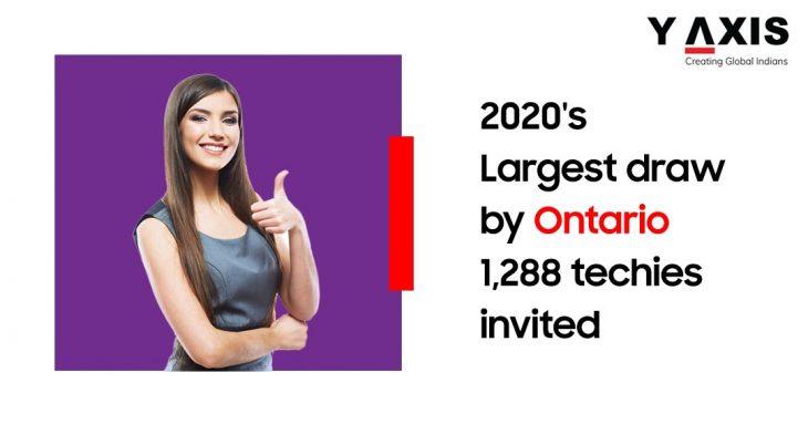 Ontario PNP Latest Draw