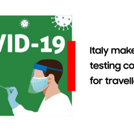 Italy makes testing compulsory for select passengers