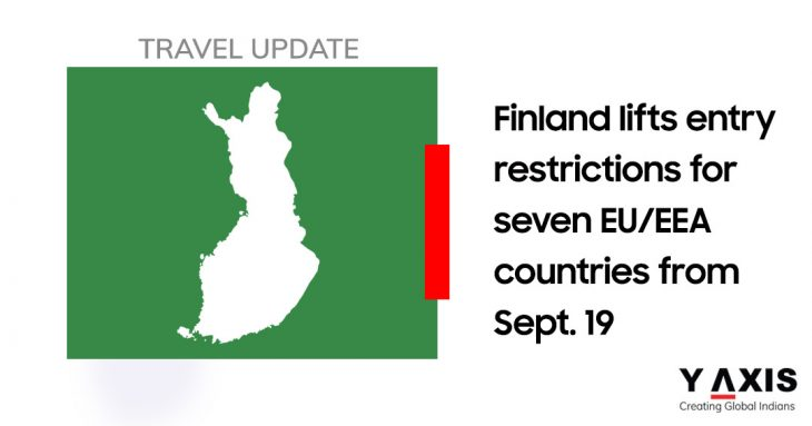 Finland lifts entry restrictions