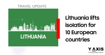 Lithuania removes isolation requirements