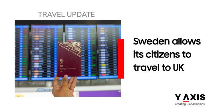 Sweden lifts advice against UK