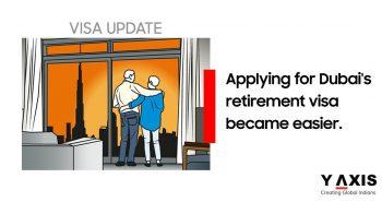 Apply for Dubai's Retirment visa easier
