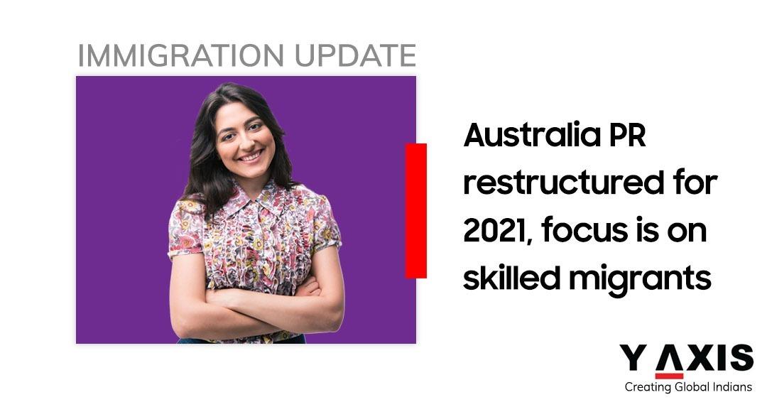 Australia migration 2020-21 restructure