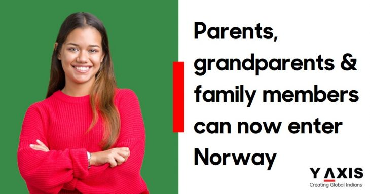 Norway family members can enter country