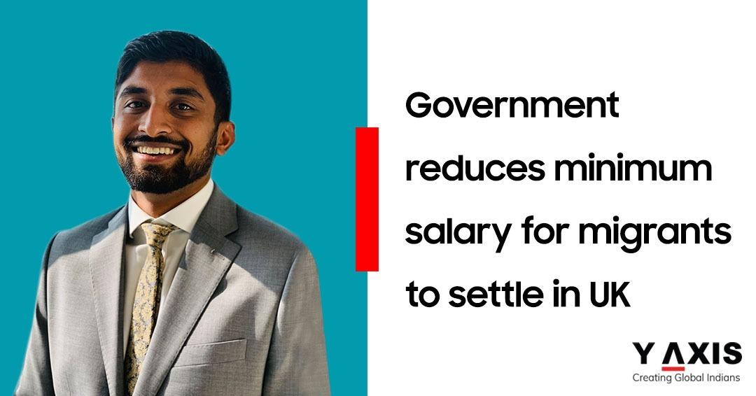Reduced UK minimum salaries for migrants