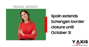 Spain extends border closure