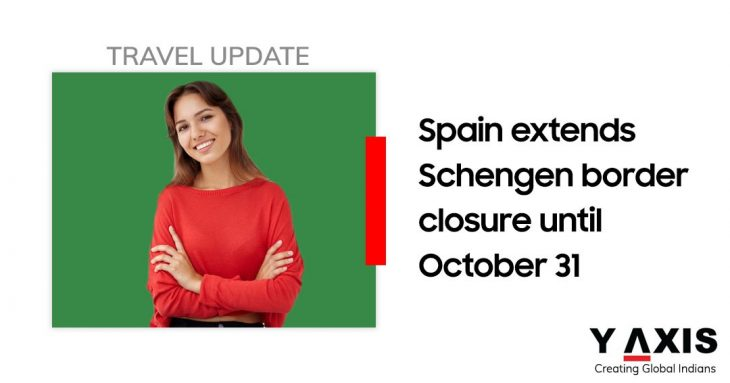 Spain extends border closure