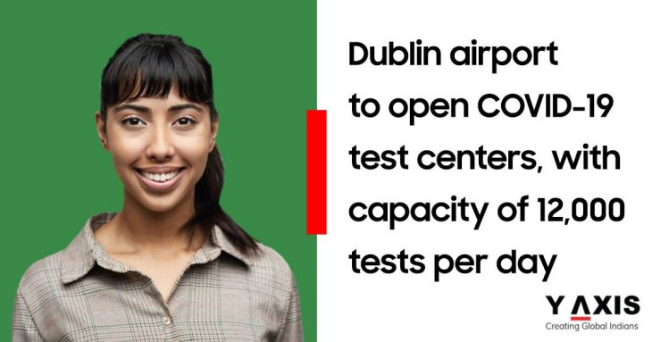 Dublin airport to get 2 new COVID-19 testing facilities