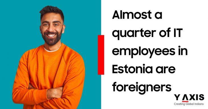 Estonia IT Employees foreigners