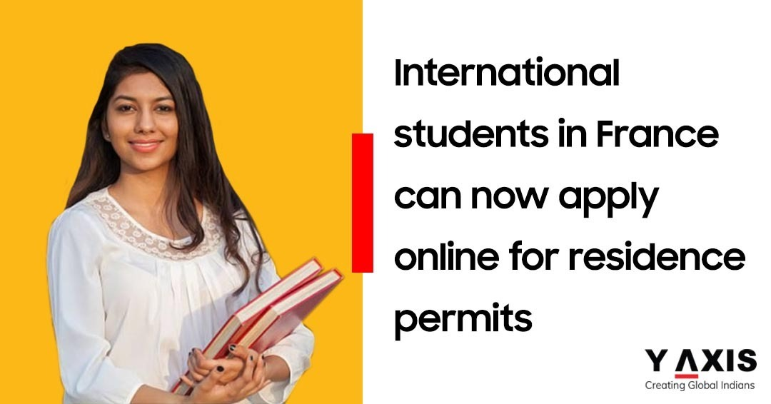 France makes student residence application online