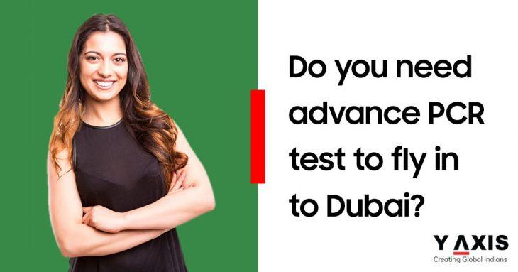 PCR test for Dubai passengers