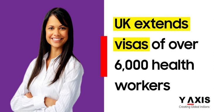 UK extends visas for foreign healthcare workers