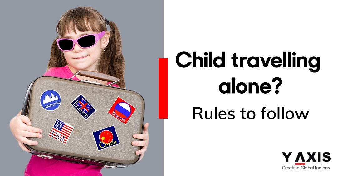 UAE rules for children travel by air