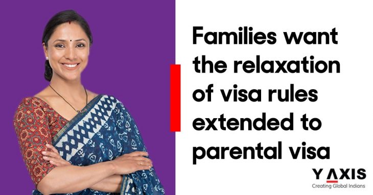 Australian family visa concession asked to be extended