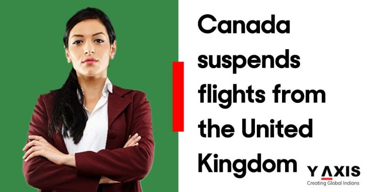 Canada suspends flights from the UK