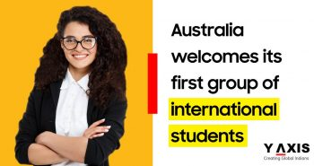 First group of foreign students arrive in Australia