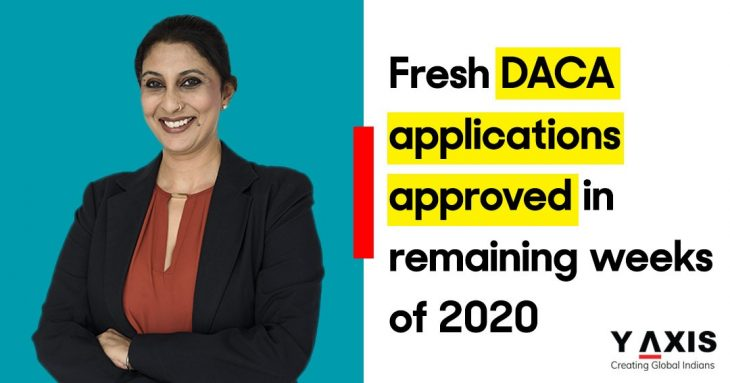 DACA applications approved in 2020